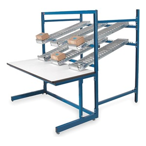 Pro-Line Ergo Flow Rack Wrkbnch, Blu, 60Lx30Wx65InH at Sears.com