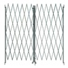 Approved Vendor 2XZG8 Steel Folding Gate, Opening 8-10Ft