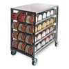 Lakeside 458 Can Dispenser and Storage Rack, 40x26