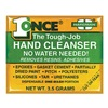 Hardman 4040-BG10 Hand Cleaner, OneTime Use, 3.5g, Pk10