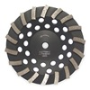 Husqvarna Turbo-1 Segment Cup Wheel, Diamond, Turbo, 4x5/8-11
