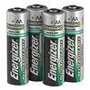 Energizer NH15BP-4 Rechargeable Battery, 2300mAh, AA, PK 4