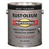 Rust-Oleum 242251 Alkyd EnamelBlack, Flat, 1gal