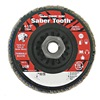 Weiler 50123 Arbor Mount Flap Disc, 4-1/2in, 80, Medium
