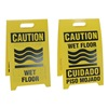 See All Industries REV-CWBI Floor Sign Reversible Wet Floor, 12 x 20