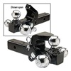 Approved Vendor 3KXY3 Triple Ball Mount, with Pintle Hook