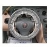 Slip-N-Grip M-FR-F0522-16 Steering Wheel Cover, Plstic, PK 500