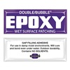 Hardman 4003-BG10 Epoxy, Wet Surface Patch, 3.5g, Pk 10