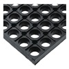 Wearwell 477.78X18X24GRBK MATTING ANTI-SLIP DRAIN 18IN X 2FT BLACK