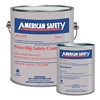 American Safety Technologies AS157K Anti-Slip Floor Coating, 1 gal, Black