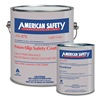 American Safety Technologies AS156K Anti-Slip Floor Coating, 1 gal, Light Gray