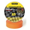 Stanley 3ZGK5 Electric Tape, 3/4 In, 66 Ft, 7 Mil, Orange