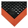 Wearwell 487.34X2X3BOR Anti-Fatigue Mat, Wet Area, 2 x 3 Ft.
