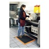 Wearwell 487.34X3X4BOR Anti-Fatigue Mat, Wet Area, 3 x 4 Ft.