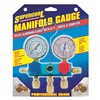 Supercool 2211 A/C Manifold Gauge, PSI and BAR, Aluminum
