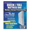 Approved Vendor 4NZF8 Mattress Bag, Full/Queen, 1.5 Mil