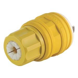 Leviton Locking Plug, L14-30P, 125/250V, 1Ph, YLW at Sears.com