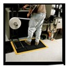 Wearwell 454.12X3X4BYL MATTING ANTIFATIGUE 3FTX4FT BLACK/YELLOW