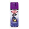 Krylon K01929 Spray Paint, Safety Purple, 12 oz.