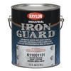 Krylon K11001201 Acryl Enamel, Flat Black, Flat, 1gal