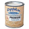 CrystaLac BRUSH SATIN Q Paint, Waterborne, Clear