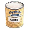 CrystaLac C.5304 Paint, Waterborne, Black