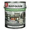 Rust-Oleum 248169 Floor Coating, 1 gal, Pure White