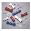 Elkay M4PLR Twist Ties, Red, 4 In, Plastic, Pk 10000