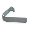 Approved Vendor 1GBE6 Gate Clip, Steel, Galv, Fits 1-3/8 In Dia.
