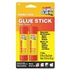 Super Glue GS88-12 Glue Stick, All Purpose, 8g, Wht, Pk 2
