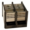 Mersen 67492 Distribution Block, 67 Series, 2P, 380A