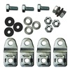 Rittal 1594000 Wallmount Kit, KL/JB, 304 Stainless Steel
