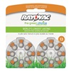 Rayovac L13ZM-16ZM Hearing Aid Battery, Size 13, Orange, PK16