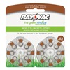 Rayovac L312ZA-16ZM Hearing Aid Battery, Size 312, Brown, PK16
