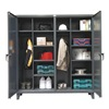 Strong Hold 66-DSW-2410 Wardrobe Storage Cabinet, 78x72, DrkGry