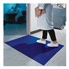 Wearwell 095.24x45BL Clean Room Mat, 2 x 3 3/4 Ft., PK 4