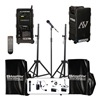 Amplivox Sound Systems B9153 Public Address System, CD, 2 Tripods