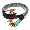 Approved Vendor 5RFP7 RCA Cable, RG-59/U, 5 RCA, 3 ft.