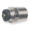 Legris 3115 62 14DOT Male Connector, 1/2In OD, 275 PSI, DOT, PK10