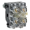 General Electric CR104PXC91 Contact Block, CR104P, 1NC-1NO, White