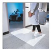 Wearwell 095.2x3WH Clean Room Mat, Dry Area, 2 x 3 Ft., PK 4