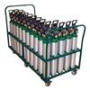 Saftcart MDE-50V Cylinder Trolley, 38 In. H, 2400 lb.