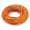 Approved Vendor 5XFL4 Patch Cord, Cat6, 100Ft, Orange