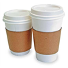 Coffee Clutch 6106 Hot Cup Sleeves, L, Corrugated, Pk1200
