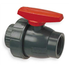 Nibco T45SU-V 11/2 Ball Valve, Threaded, 1 1/2 In, PVC, 150 PSI