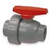 Nibco T51SU-V 1 Ball Valve, Threaded, 1 In, CPVC, 150 PSI