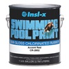 Insl-X By Benjamin Moore CR2602092-01 Pool Paint, Chlorinated Rubber, Red, 1G