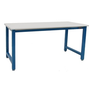 BenchPro Ergo Workbench, Blue, 120Lx30Wx30H In. at Sears.com