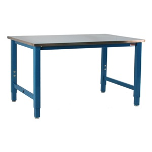 BenchPro Ergo Workbench, Blue, 117Lx36Wx30H In. at Sears.com
