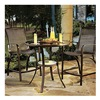 Agio International Co., Inc S3-ADC03309 Urban 3PC Hi Dining Set